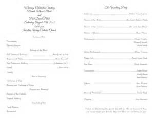 wedding programs template wedding program templates wedding programs fast