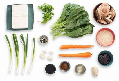 Tofu Rice Fried Chinese Broccoli Ingredients Quinoa