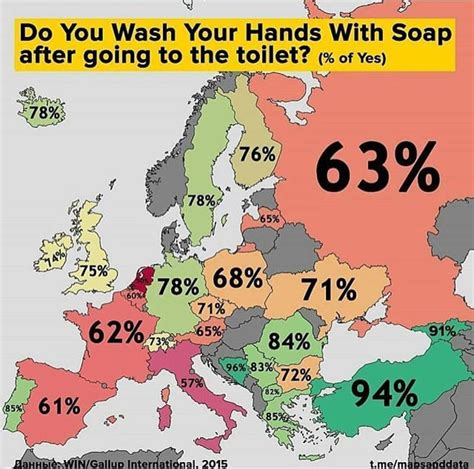 Do You Wash Your Hands With Soap After Going To The Toilet