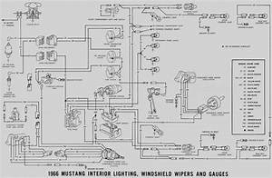 1966 Mustang Console Wiring Diagram