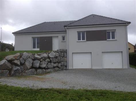 maison plain pied 5 chambres maison neuve sur sous sol avec garage sur ussel