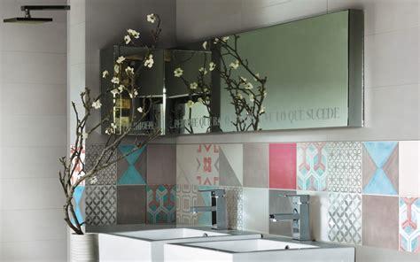 credence cuisine en carreaux de ciment crédence cuisine carreaux de ciment patchwork et artistique