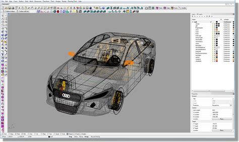drafting tools rhinoceros 3d