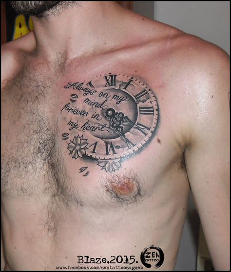 lion clock tattoo google search tattoos pinterest