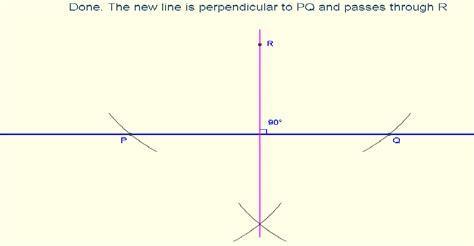 Constructions Constructions Perpendicular Lines