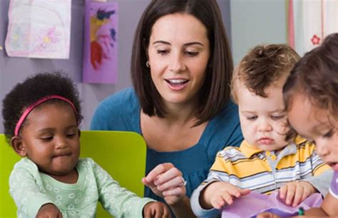 preschool naeyc standards for early childhood 981 | Preschool teacher working with toddlers