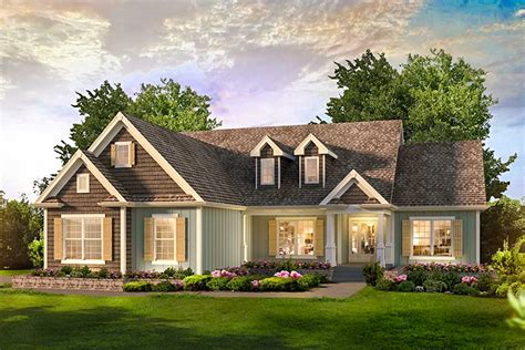 3 Bed Country Ranch Home Plan