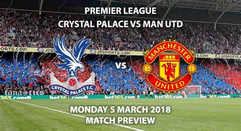 Soccer streams hosted on external sites like youtube are. Crystal Palace vs Manchester United - Match Preview ...
