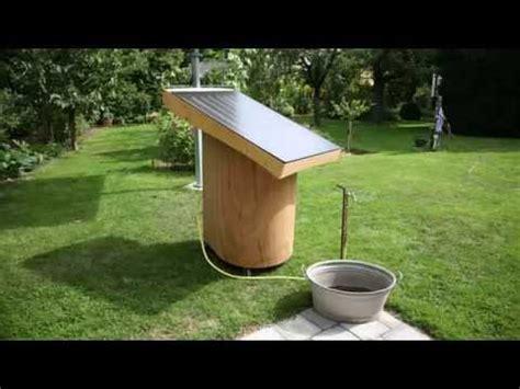 Der Alm Und Gartenwichtel Solar Warmwasser Im Garten Und