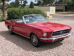 1967 FORD MUSTANG CONVERTIBLE - 21674