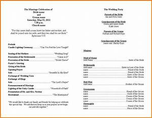 wedding ceremony program template authorization letter pdf With wedding ceremony program template