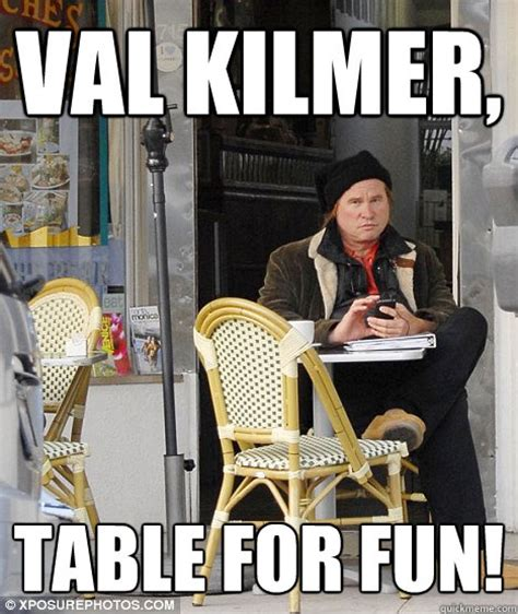 Val Kilmer Batman Meme - the gallery for gt val kilmer fat meme