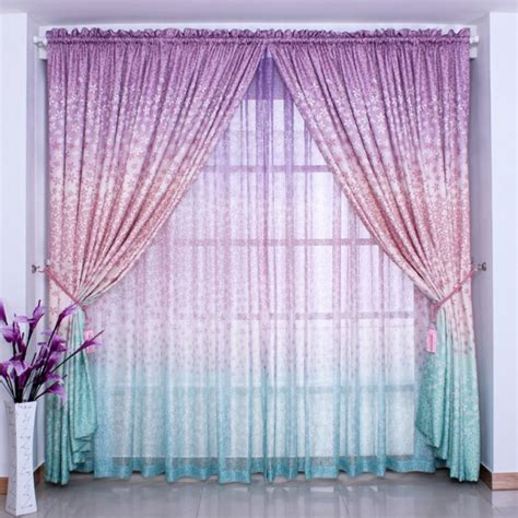 ombre blue curtains 22 clever ideas of ombre interior designs
