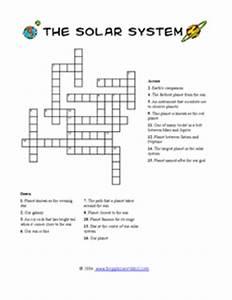 Solar System Crossword 3rd - 6th Grade Worksheet | Lesson ...