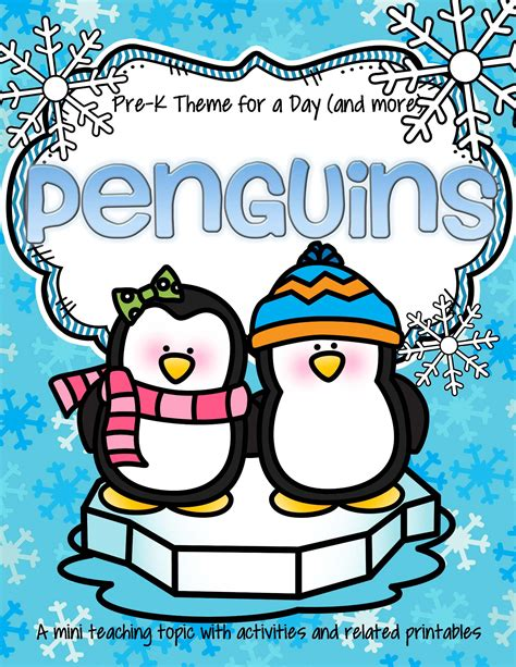 penguin theme for preschool penguins theme activities and printables for preschool and 82506