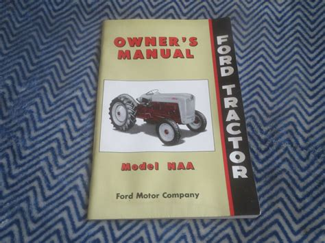 ford tractor tractors model naa owners