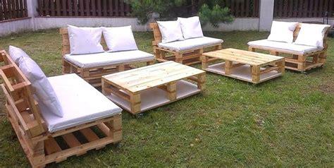 20 modu00e8les de salons de jardin fabriquu00e9s en bois de palettes | idu00e9es bricolage | Pinterest | Salons