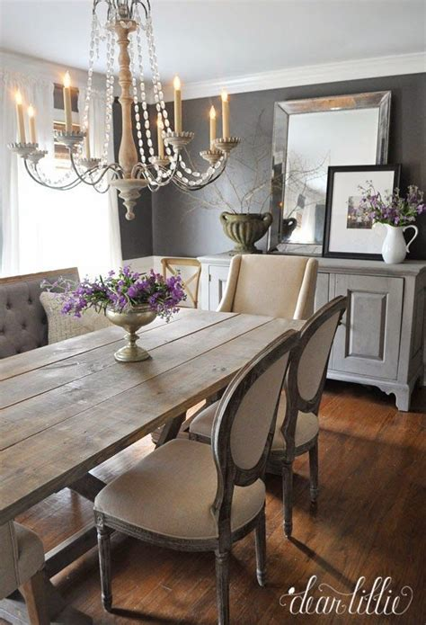 Rustic Dining Room Ideas by Dining Room With Both Traditional And Rustic
