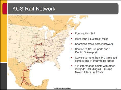 Kansas City Southern - A Prime Target For Takeover ...
