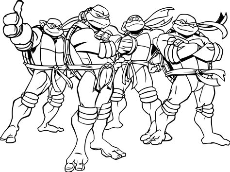 Ninja Turtle Coloring Pages New Ninja Turtles Coloring