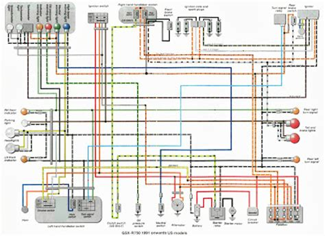 Gsxr 750 Wiring Diagram 1991 gsxr 750 wiring diagrams service manual