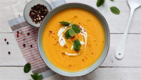 soupe orange avec cookeo multicuiseur cookeo