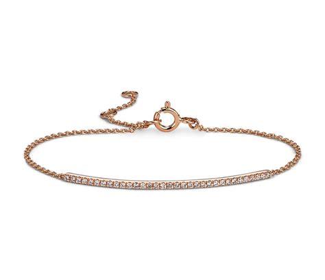 Delicate Diamond Bar Bracelet In 14k Rose Gold (15 Ct Tw. Carrot Rings. Gold Bangle Bracelet With Circles. Womans Anklet. White Gold Anklets. Citrine Rings. Rose Gold Pearls. Mans Bracelet. Light Weight Chains