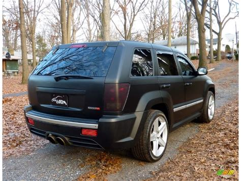 2006 jeep grand cherokee custom 2006 custom matte black jeep grand cherokee srt8 58915565