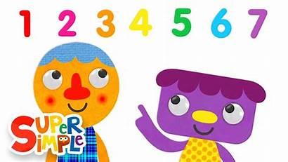 Steps Numbers Song Seven Simple Super Songs
