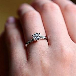 White gold plated ring wedding bands engagement ring 925 for Wedding engagement rings for women