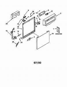 Kenmore Model 66515834000 Dishwasher Genuine Parts