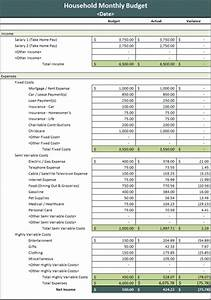 microsoft excel personal budget templates monthly household budget microsoft excel template ms