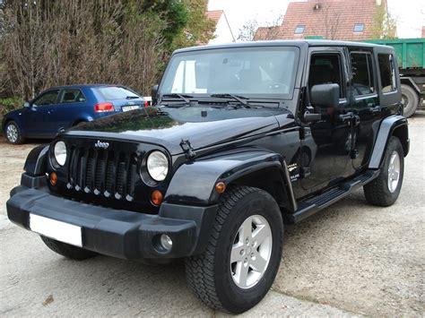 lhd jeep wrangler  black lieu