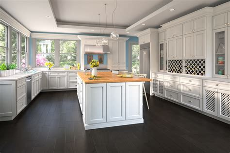 providence white ready  assemble kitchen cabinets