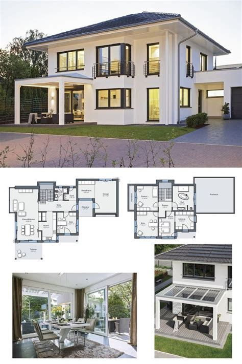 Energiesparhaus Grundriss Stadtvilla  City Life Haus 250