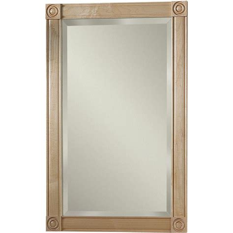 home depot recessed medicine cabinets with mirrors soho 17 188 in w x 27 438 in h x 5 25 in d recessed