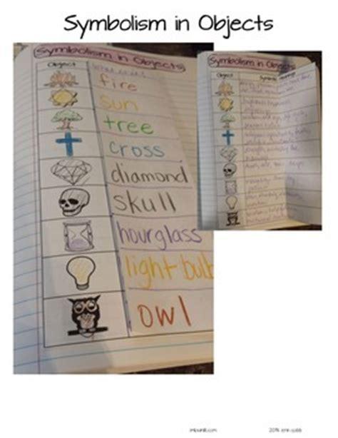 color symbolism in literature teaching symbolism in literature with objects colors