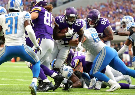 tva predictions   vikings stuff  lions