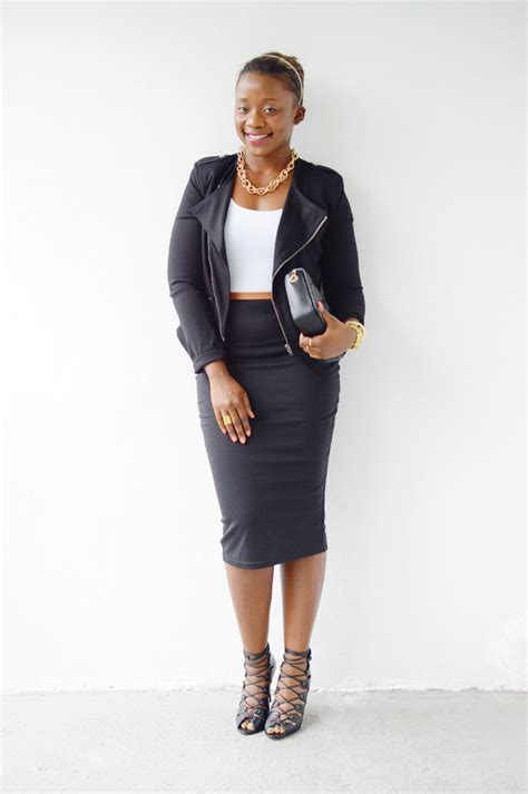 Going out outfit with pencil skirt