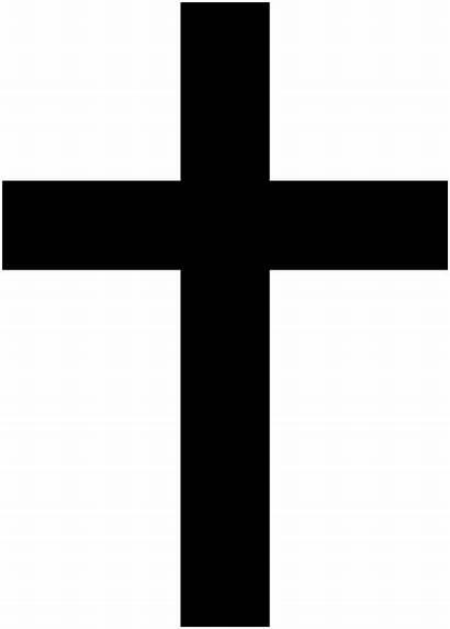 Cross Christian Svg Simple Wikipedia Religious Crosses