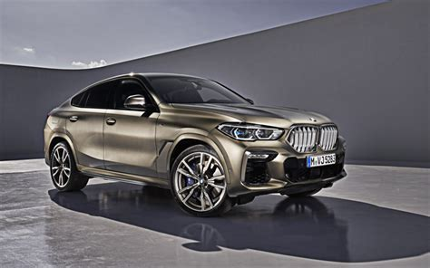 when will 2020 bmw x6 be available wallpapers 2020 bmw x6 m50i exterior front
