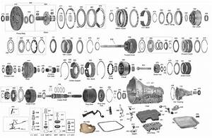4r70 Transmission Parts Diagram Trans Parts Online