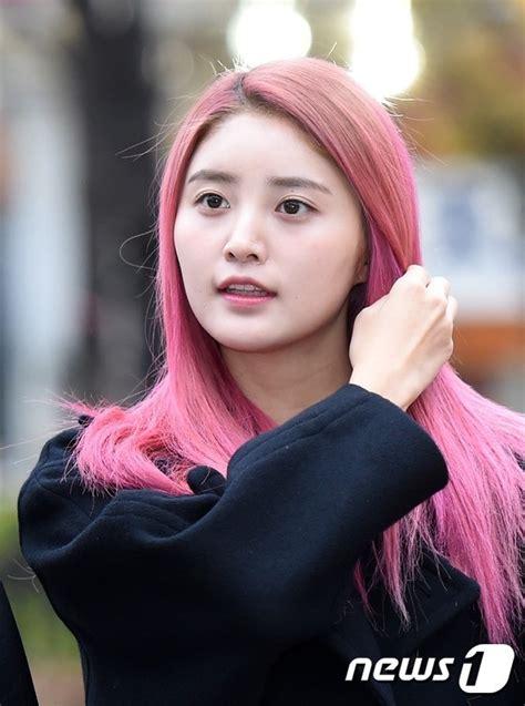 female idols  rocked pink hair koreaboo