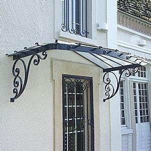 Marquise De Porte Ancienne : marquise fer forg classique fa ade arrondie ma81 ~ Dailycaller-alerts.com Idées de Décoration