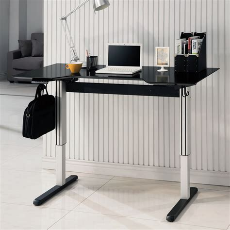 home office standing desk office home adjustable height computer writing standing