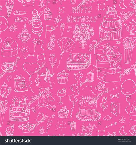 happy birthday pattern stock vector 349103777