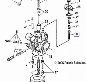 31 Polaris Sportsman 90 Parts Diagram