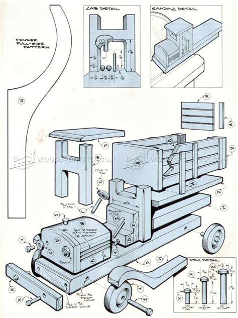 ideas  wooden truck  pinterest wooden toys