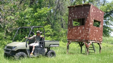 diy build  portable shooting house mossy oak