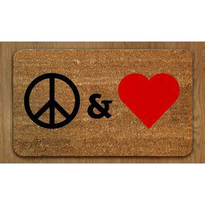 Peace Doormat by 25 Best Doormats Images By Wysada On